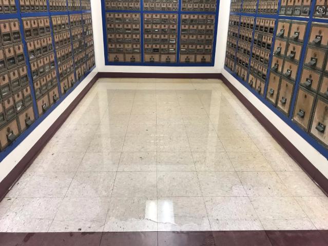 Carlsbad Post office flood