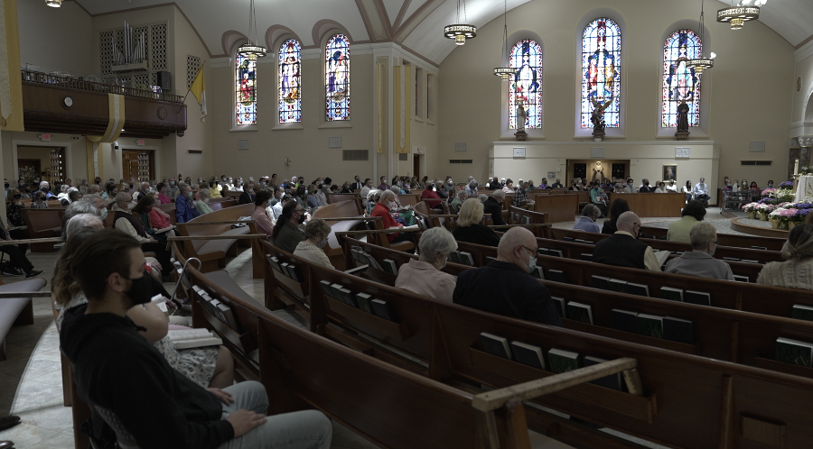 Service at Queen of the Miraculous Medal