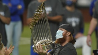 Justin Turner: Despite COVID-19 diagnosis Dodgers star returned to field to celebrate World Series