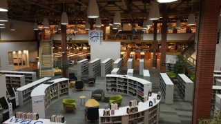 New look at the Lewis and Clark Library