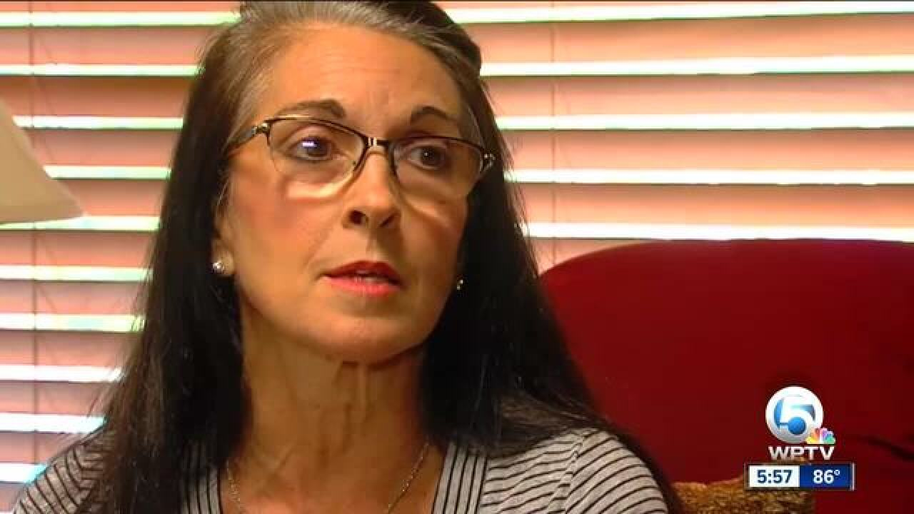 Mother trampled outside football game speaks