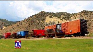 Uniquely Utah: Caboose Village at Big Rock CandyMountain