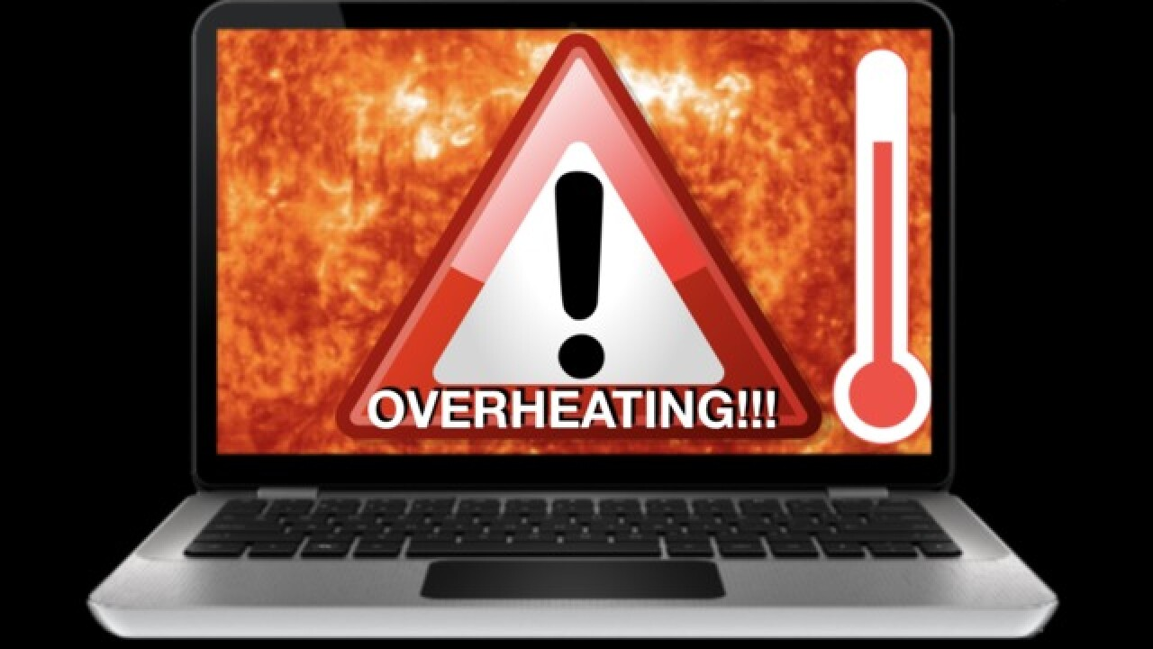 High temps can lead to serious tech issues