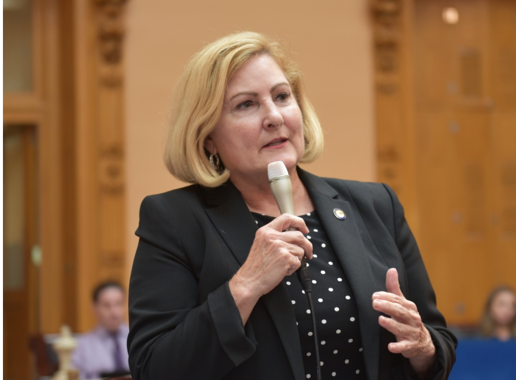 """OH Sen. Teresa Fedor (D-Toledo) said she believes Director Damschroder is """"lying"""" about not having an accurate number of account takeover victims."""