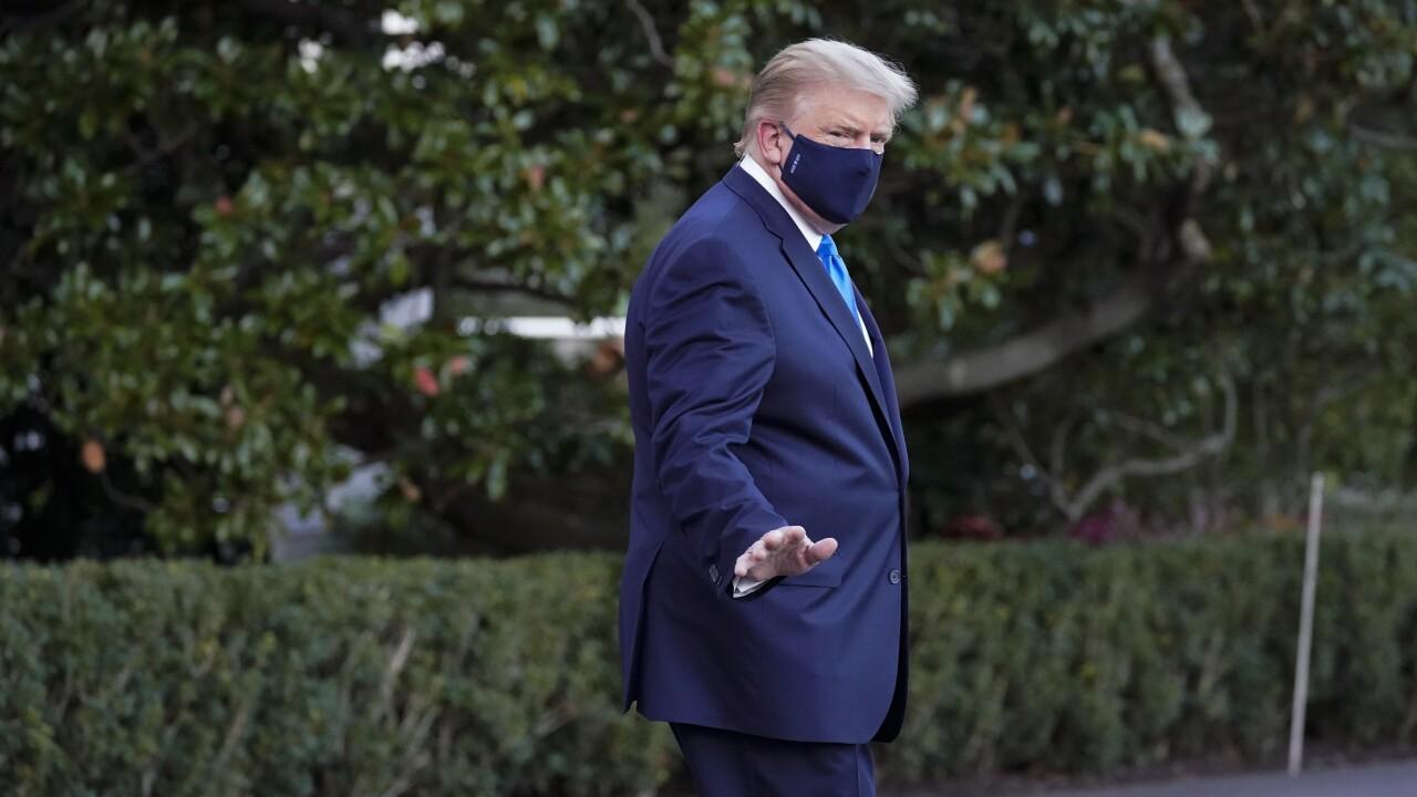 Trump experiencing 'mild' symptoms of COVID-19