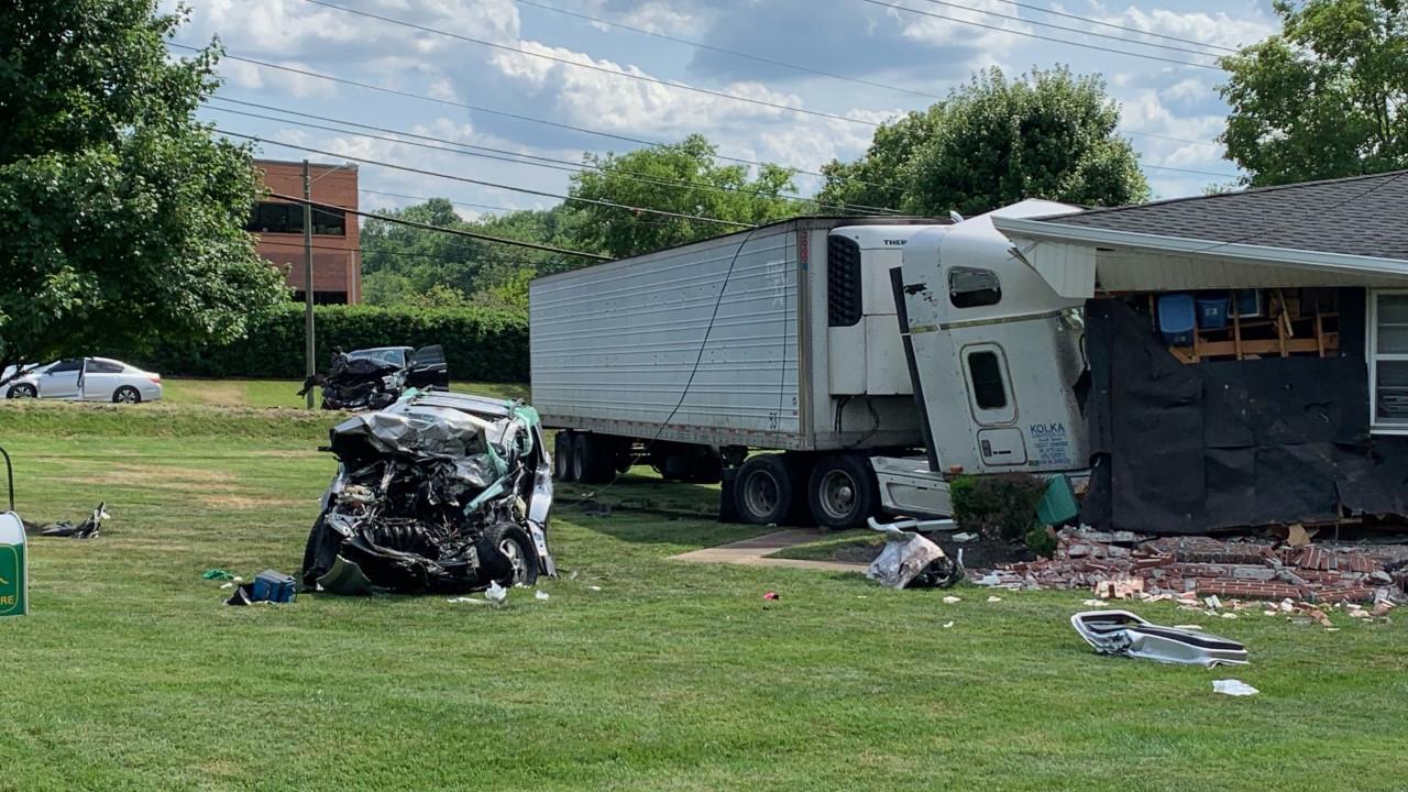 Elm Hill Pike crash