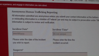 Anonymous Human Trafficking Reporting