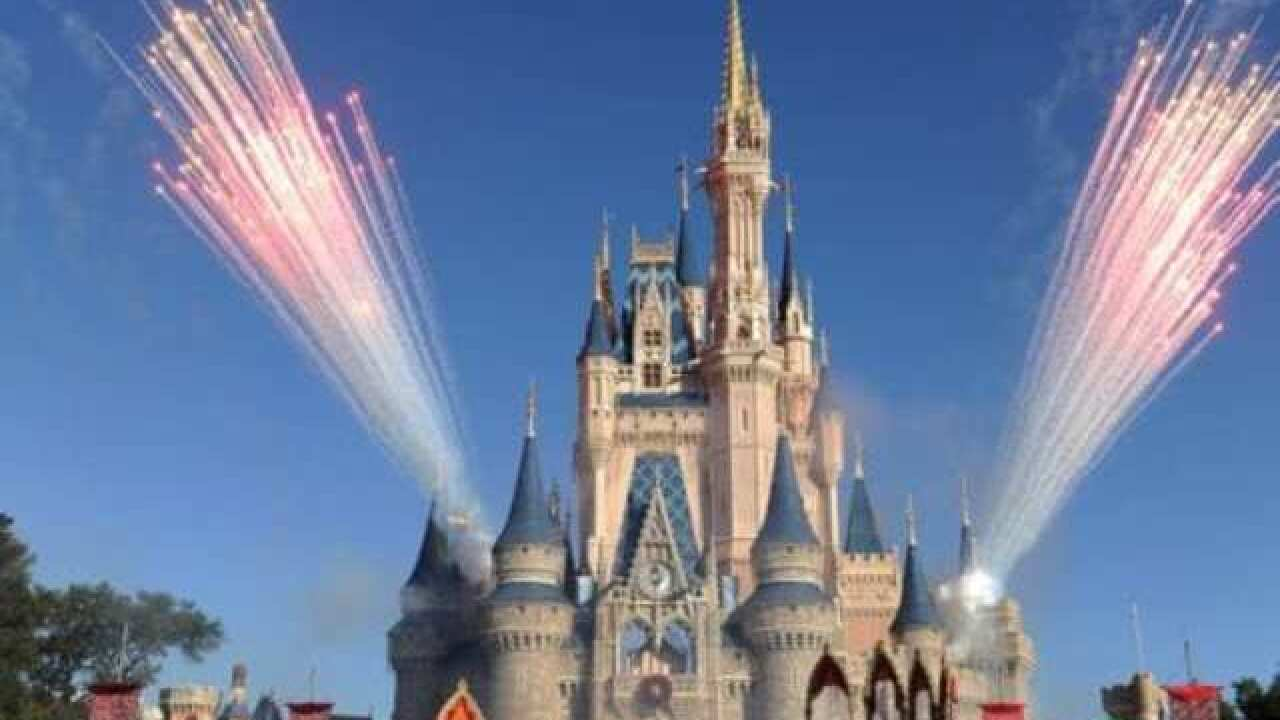 Disney World blocks man who displayed Trump signs