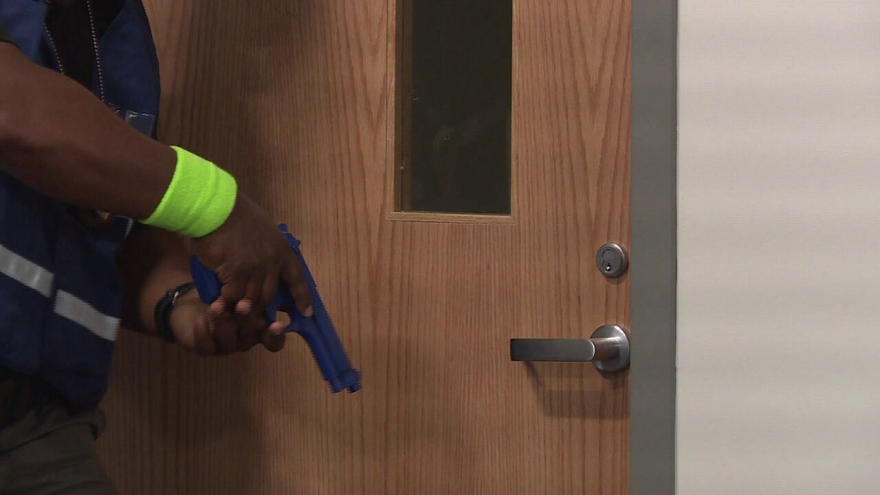 'My adrenaline started pumping' ODU employees take part in active shooter training