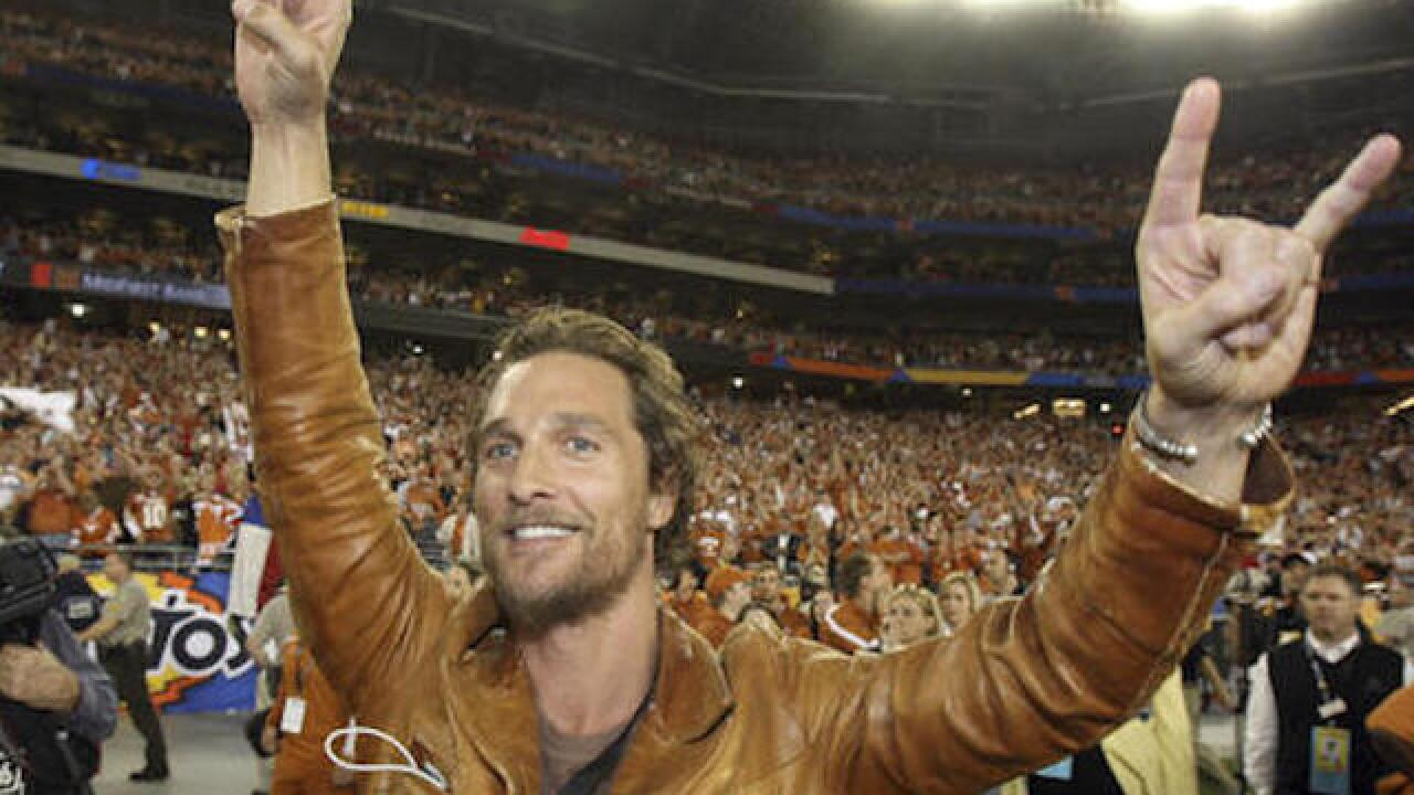 Watch: Actor Matthew McConaughey surprises people with turkey
