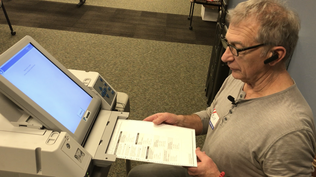 Accessible Voting at Independence First