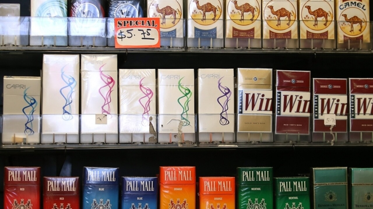 More cities increasing legal age to purchase tobacco products