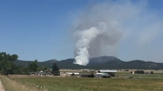 North Hills Fire in Helena at 100 acres, evacuations remain