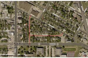Glendale Drive map