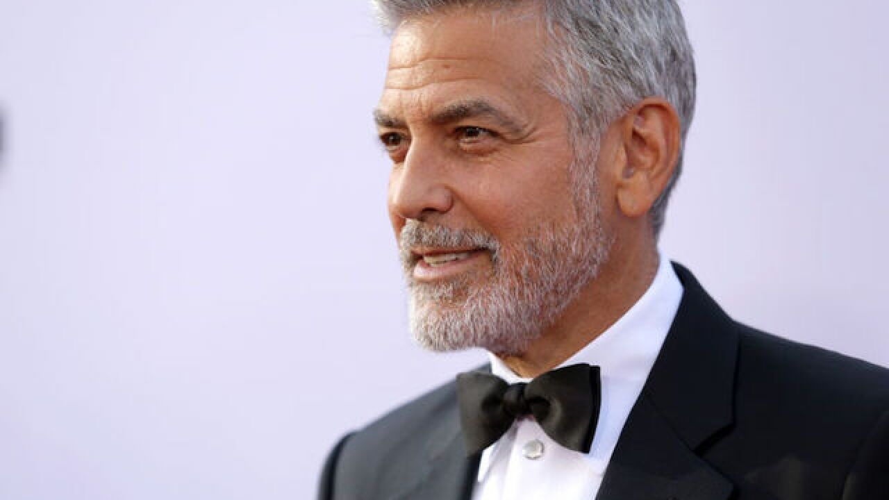 George Clooney Involved In Scooter Accident In Italy