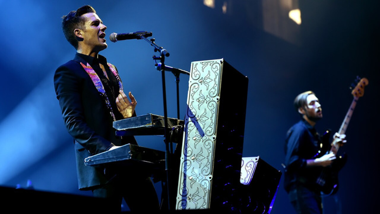 Killers' Twitter war leads to charity donation