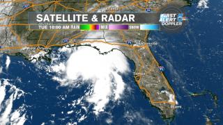 Tropical Storm Gordon hit the gulf coast as a hurricane