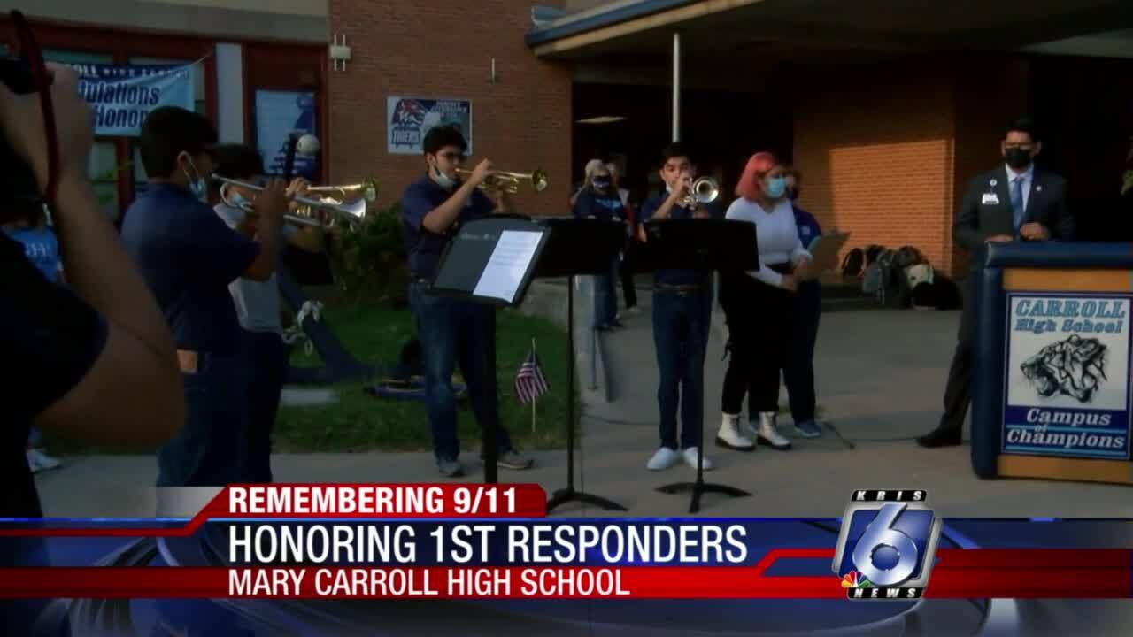 Carroll students pay tribute to 9-11 first responders