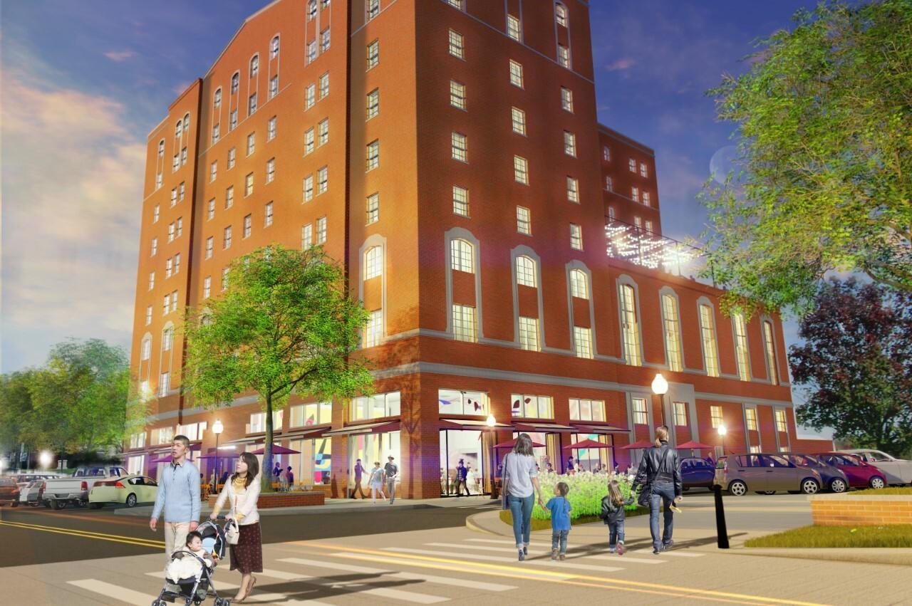 Hotel Hayes rendering