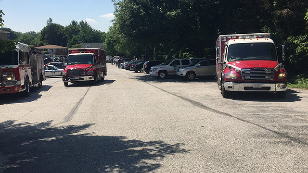 Police respond to suicidal subject in BaltCo