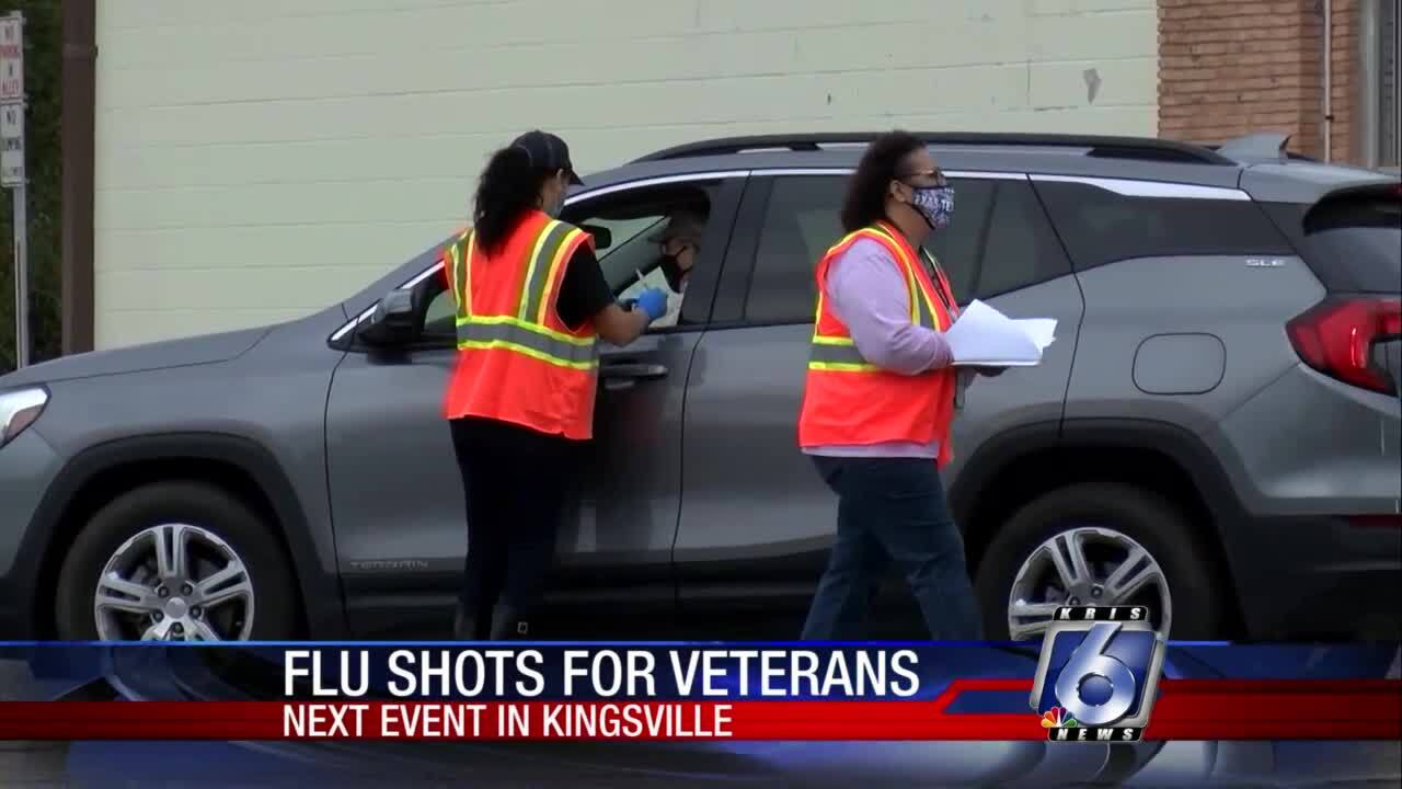Veterans Administration stages flu shot event