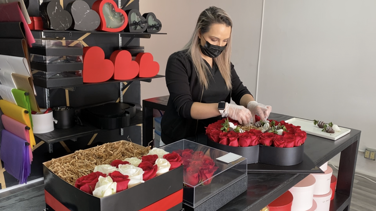 Ana González of Piece of Love Cakes and Gifts