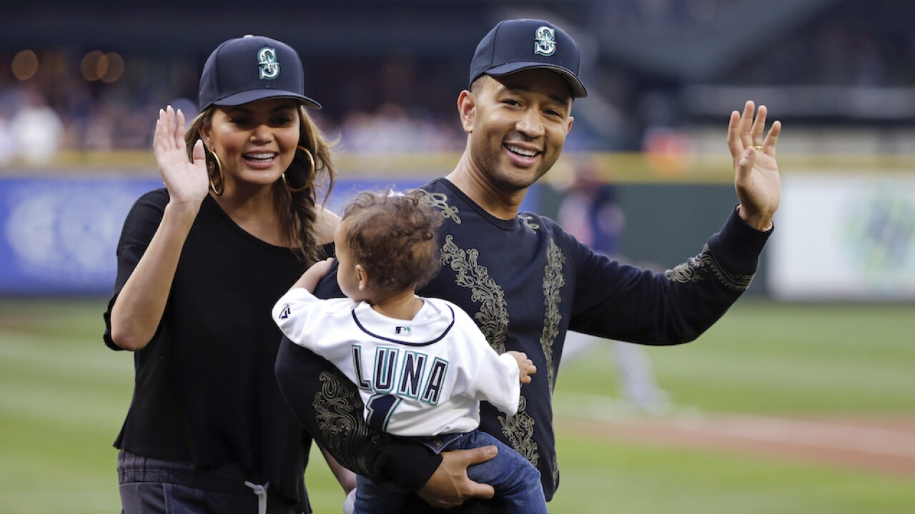 Chrissy Teigen's daughter pays tribute to unborn brother in sweet video