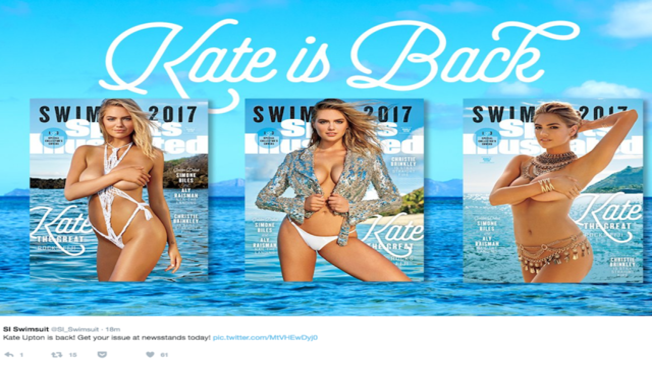 SI Swimsuit issue: See Kate Upton's new covers