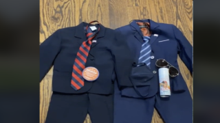 Mom Dressed 4-year-old Twins As Presidential Candidates For Halloween