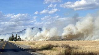 Birdseye area fire burns an estimated 800 acres, some evacuations remain in place