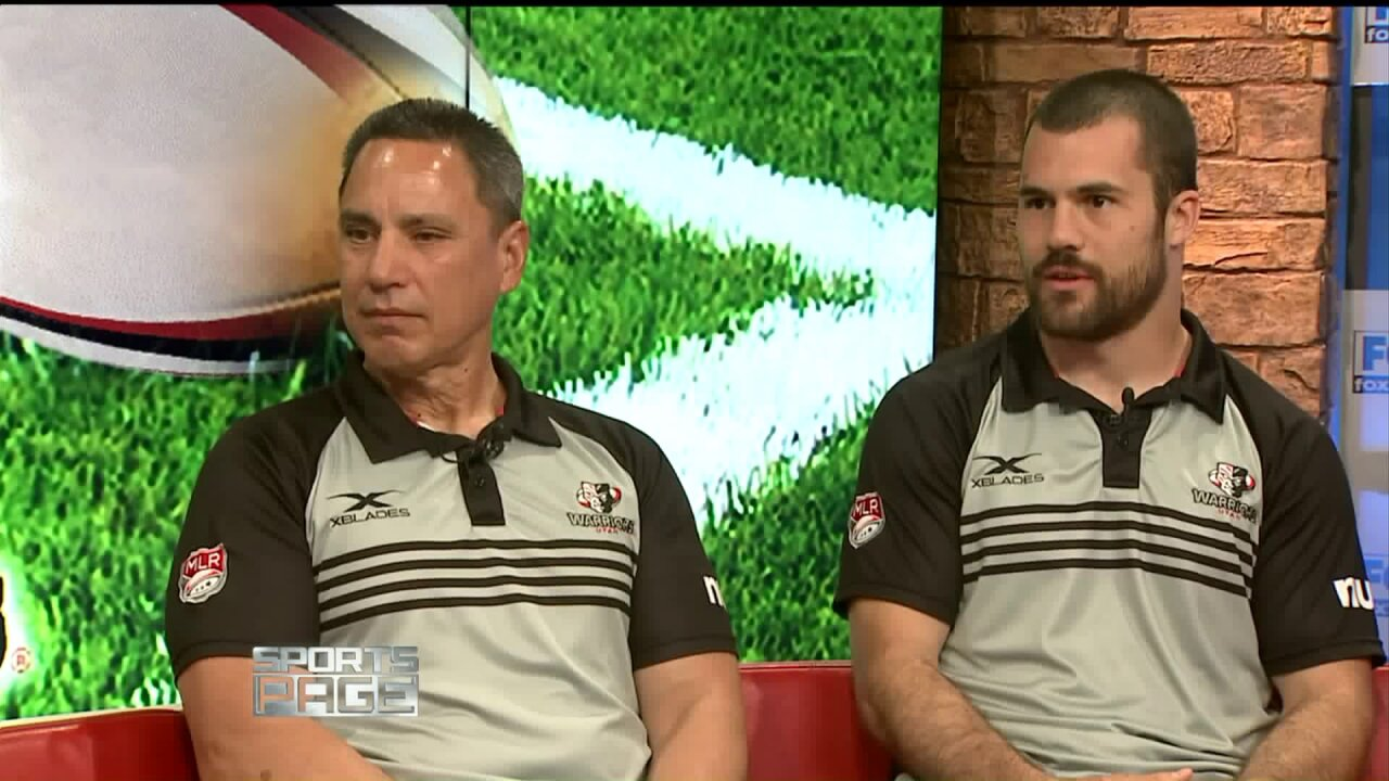 Utah Warriors rugby coach and player on Sports Page to discuss season2