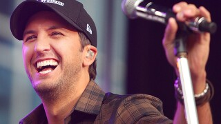 Luke Bryan's wife shares hilarious photos of kids before hunting trip