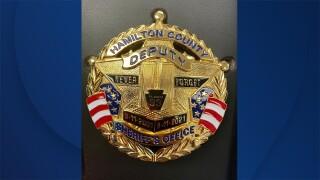 9/11 memorial badge
