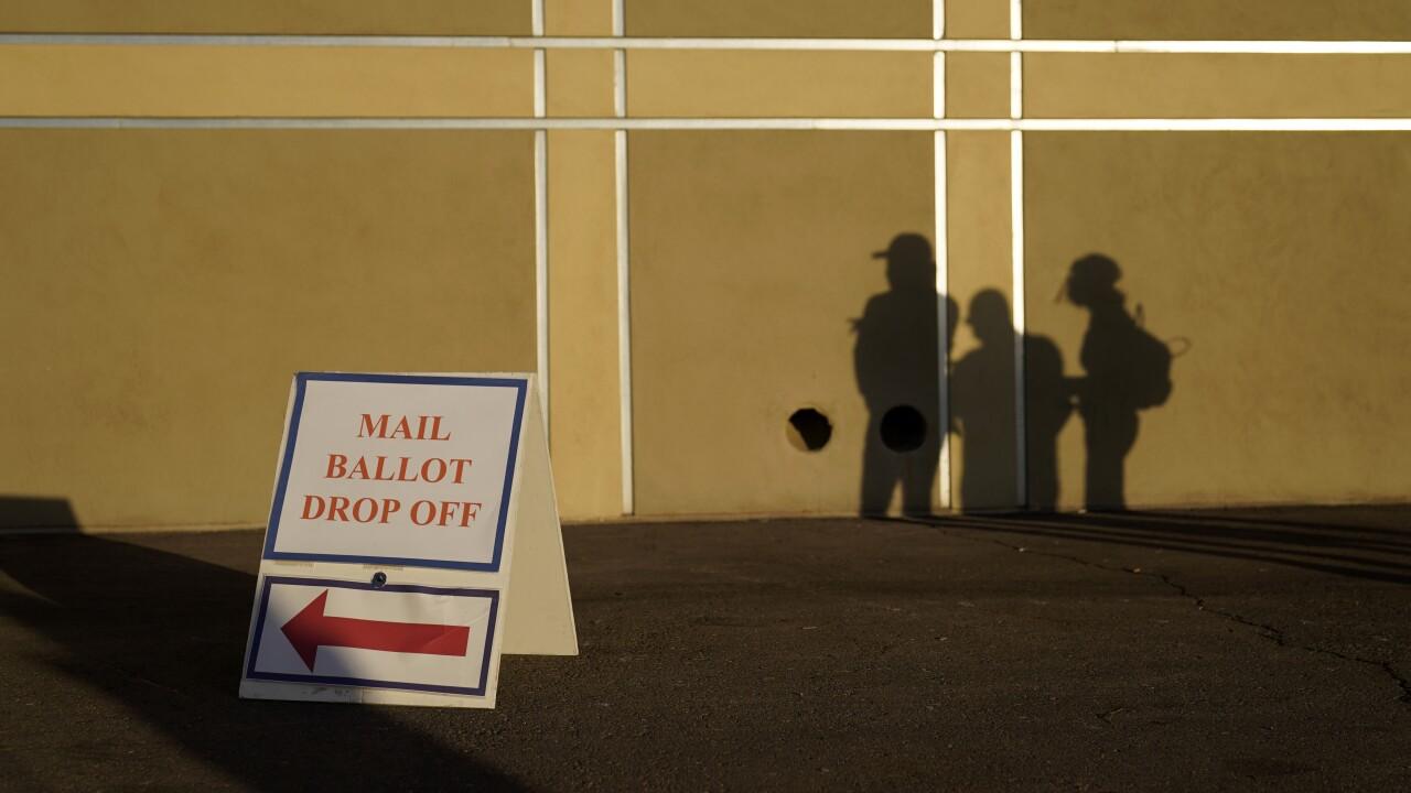 APTOPIX Election 2020 Nevada Voting