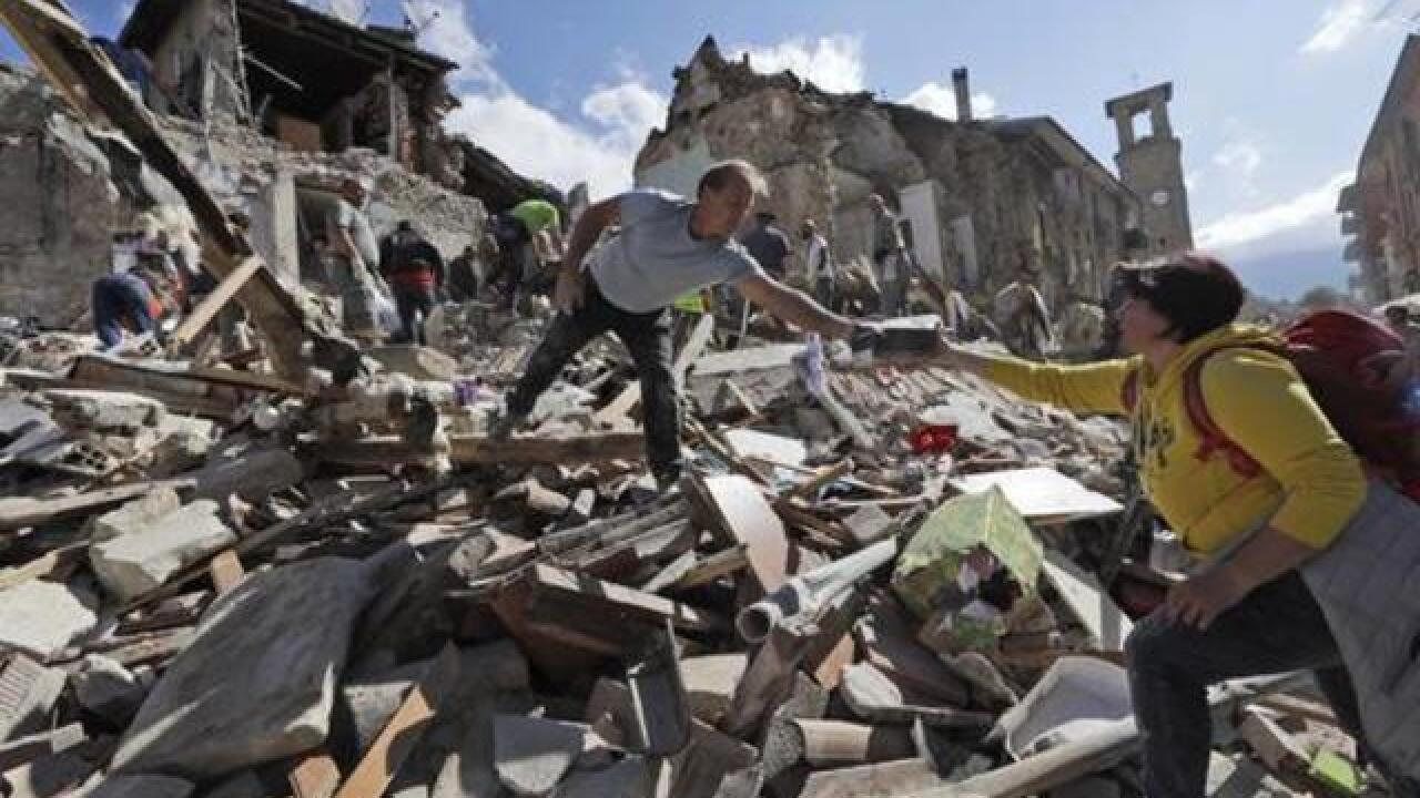 Gallery: Italian town devastated by earthquake