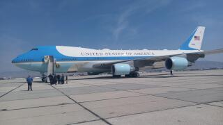 Air Force One in Idaho
