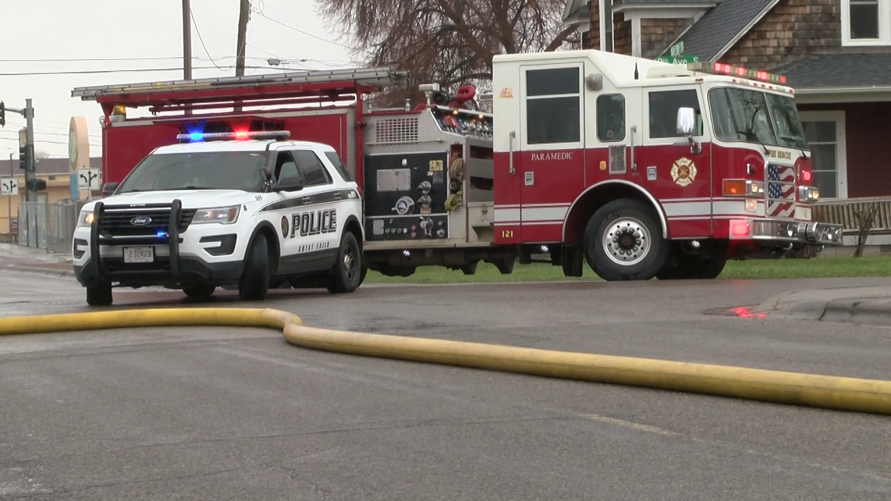 No injuries reported in garage fire in Great Falls
