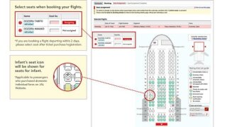 Airline introduces baby seat map to allow passengers to avoid infants