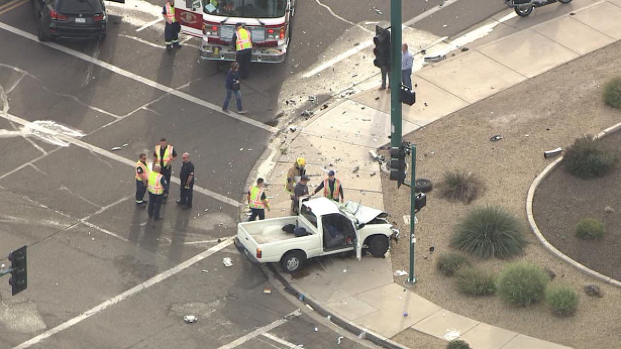 43rd Avenue and Happy Valley Road crash