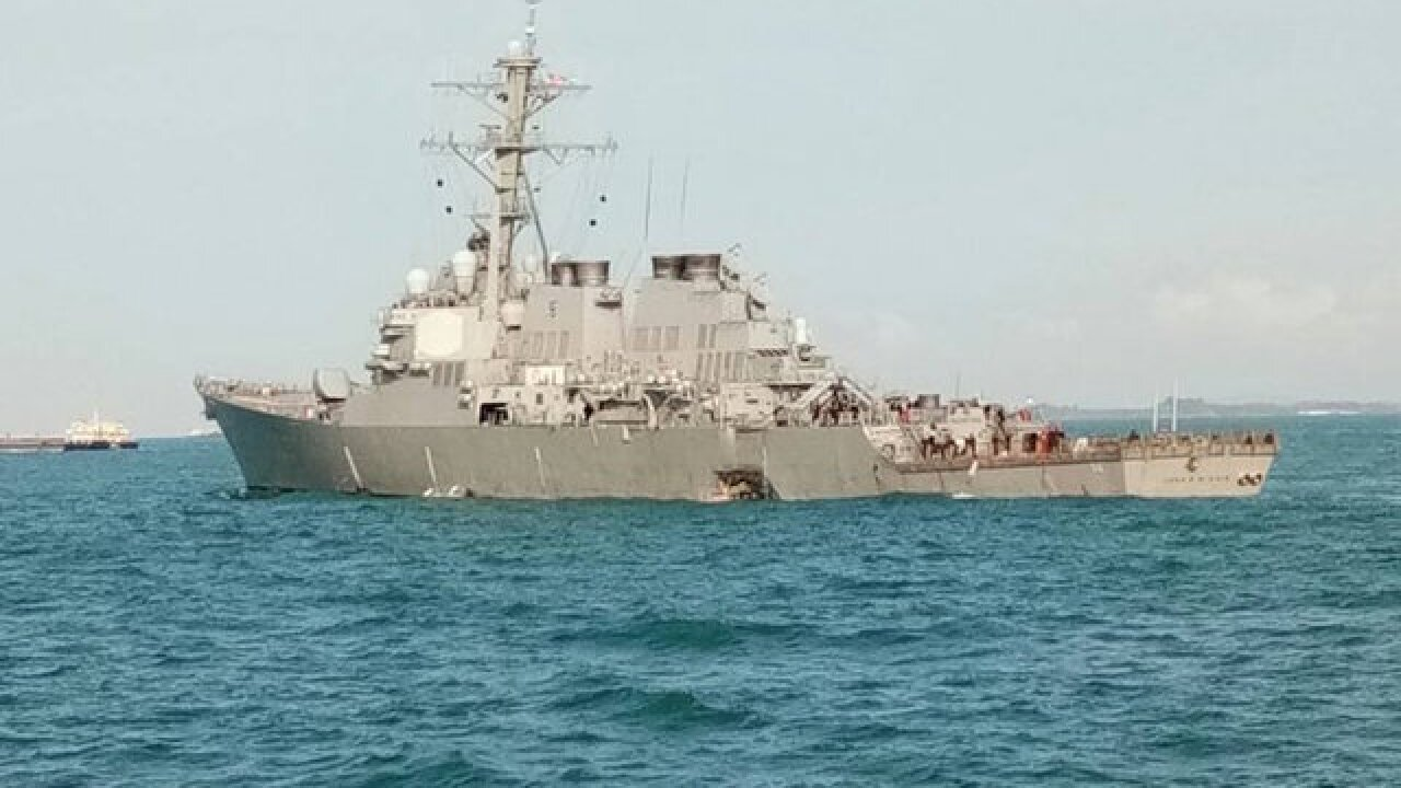 Ohio man among USS John McCain's missing sailors