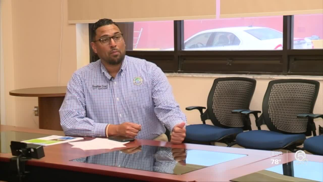 Riviera Beach City Manager Jonathan Evans calls water system archaic