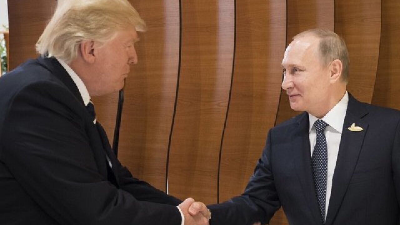 Trump calls Putin to congratulate him on re-election
