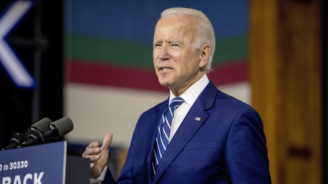 Biden claims Trump is America's 'first' racist president