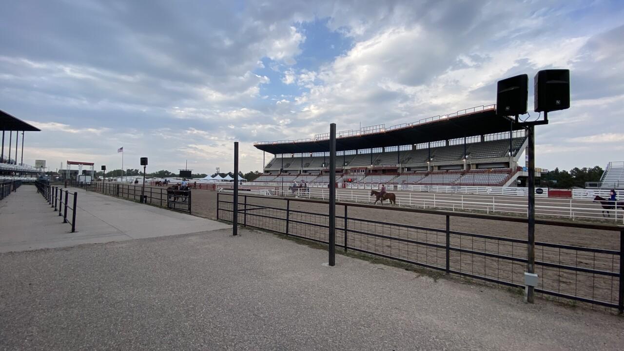 Cheyenne Frontier Days stadium