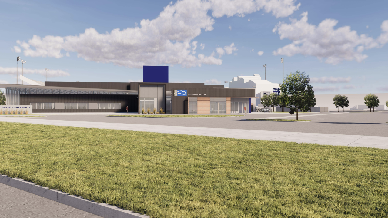 Bobcats and Bozeman Health announce addition of clinic to new athlete facility