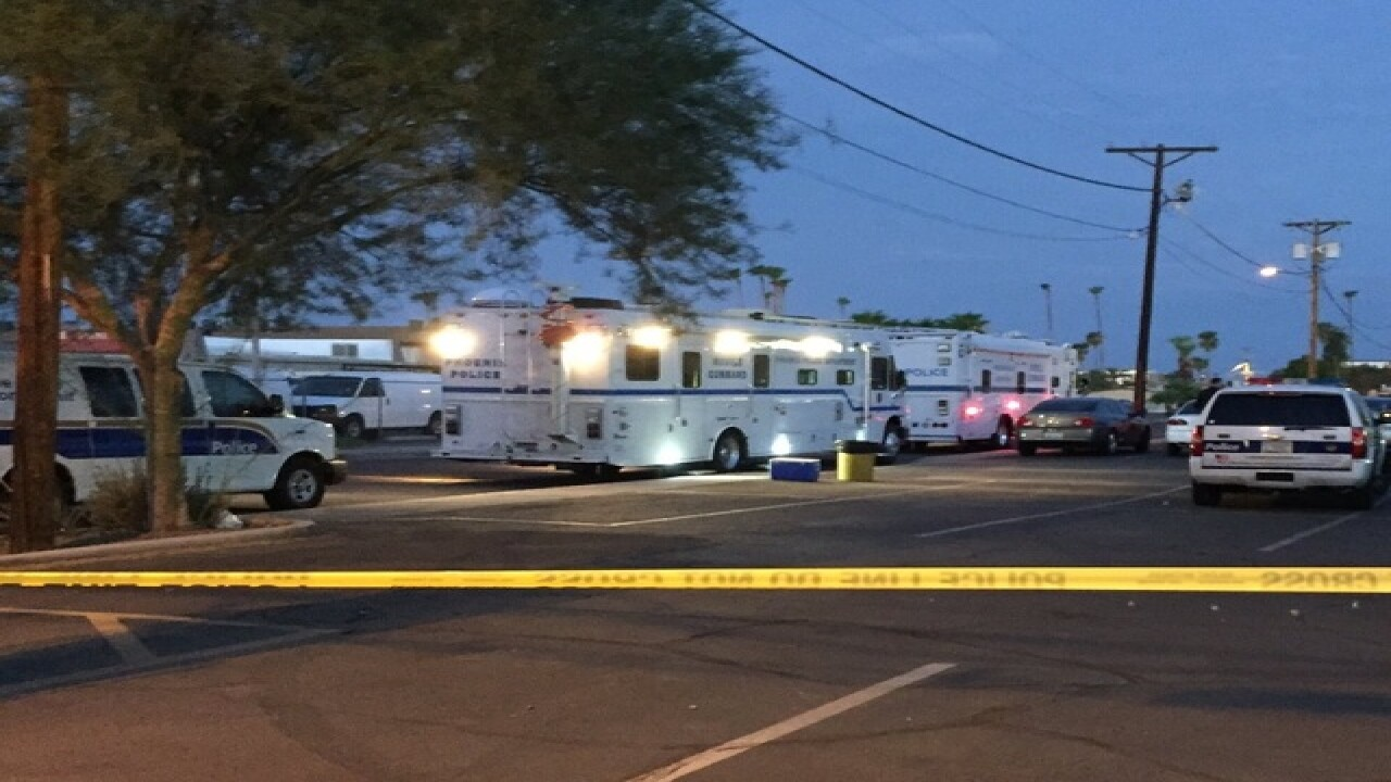 Shots fired near 27th Avenue and Camelback Road