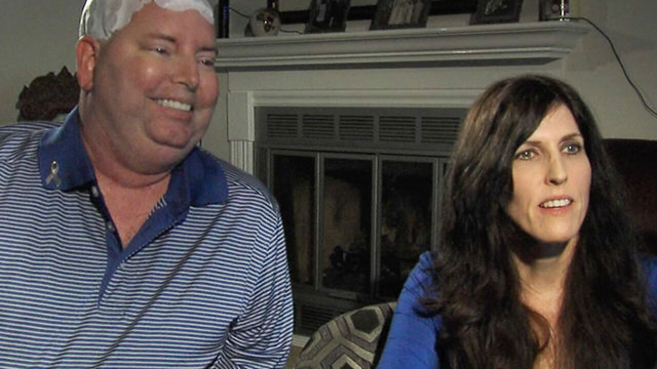 Man with cancer passes away in wife's arms