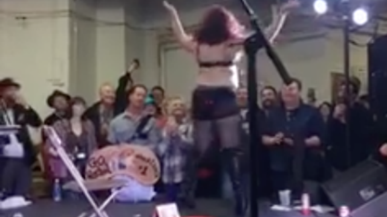 Council member booed for criticizing striptease