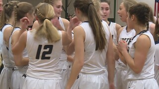 WIAA girl's state basketball tournament in town