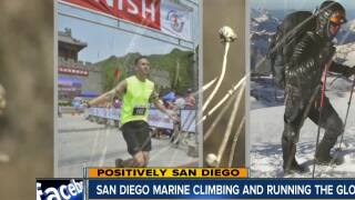 Positively San Diego: Marine climbing and running the globe